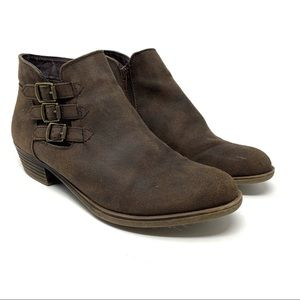 ⭐️ Soda Brown Ankle Boots Size 8